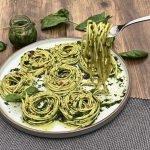 Spinach Spaghetti | Lori's Kitchen Sevenoaks