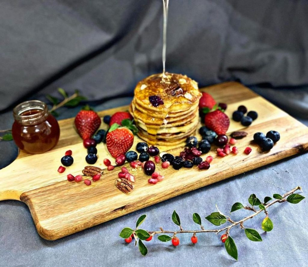 Fluffy American Pancakes | Lori's Kitchen